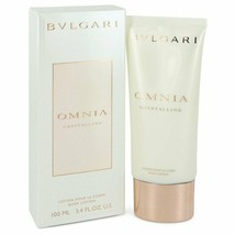 OMNIA CRYSTALLINE by Bvlgari Body Lotion 3.3 oz for Women - $38.61