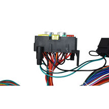 12 Circuit Street Hot Rat Rod Custom Universal Color Wiring Wire Kit XL WIRES image 5