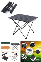 Picnic Table Portable Folding Heavy Duty Large Camping Hiking Fishing Ca... - $76.62