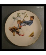 10 1/2 inches NORMAN ROCKWELL Collectors Plate by GORHAM 1972 - Summer -... - $33.00