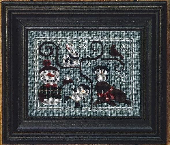 Oodles of Winter w/beads cross stitch chart Bent Creek