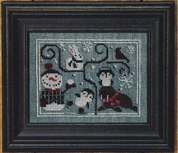 Oodles of Winter w/beads cross stitch chart Bent Creek  image 1