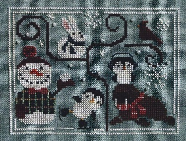 Oodles of Winter w/beads cross stitch chart Bent Creek  image 2