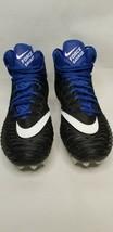 Nike Force Savage Elite Men Football Cleats Black/Blue Size 13 AJ6605-008 FW5 - $24.99