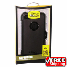 "OtterBox Defender Series Case For iPhone 6s Plus & iPhone 6 Plus 5.5"" Bl... - $39.26"