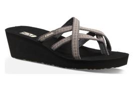Women's Teva Mush Mandalyn 2 Rumi Brown Flip Flops Size 12 - $28.98