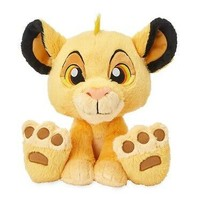 "Disney Parks The Lion King Simba Big Feet 10"" Plush New with Tag - $39.34"