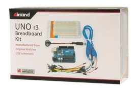Inland Uno Breadboard Kit - $32.62