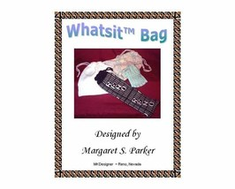 Whatsit Bags Drawstring Machine Knit ePattern - $1.20