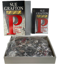 """Sue Grafton Mystery 1000 Piece Jigsaw Puzzle """"A Poison That Leaves No Tr... - $16.79"""