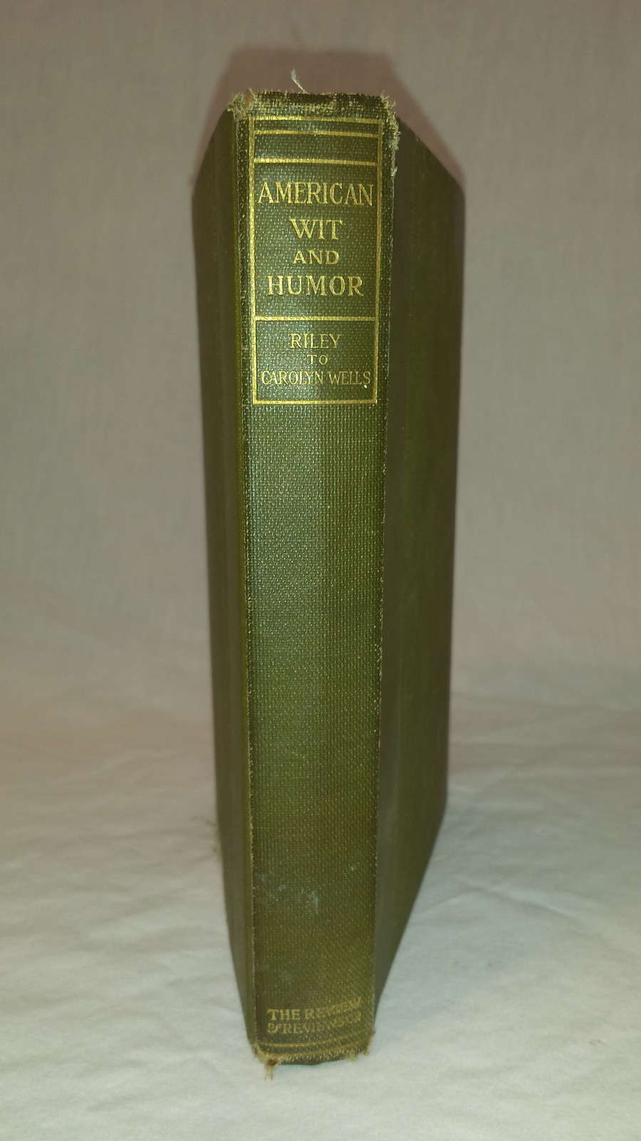 American Wit and Humor Book 1907 Riley to Carolyn Wells