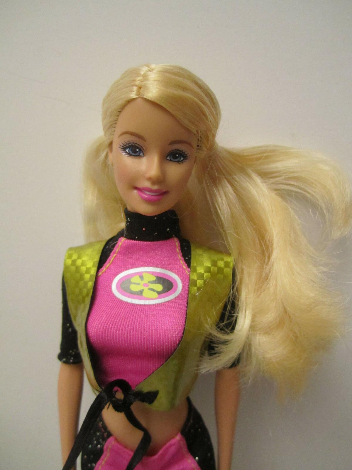 MINT Deboxed Partial 2003 Barbie Sea Splashin' Set Doll with Jetski & Dolphin image 4