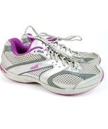 AVIA Women's A9616WSVU Walking Shoe Silver Purple 8M Toner Balance Shape - $23.01