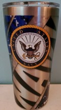 Tervis U.S. Navy 20 oz Stainless Steel With Hammer Lid NEW - $23.14