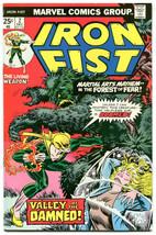 Iron Fist 2 NM 9.4 Marvel Vol 1 1975 Claremont Byrne Origin Details - $98.99