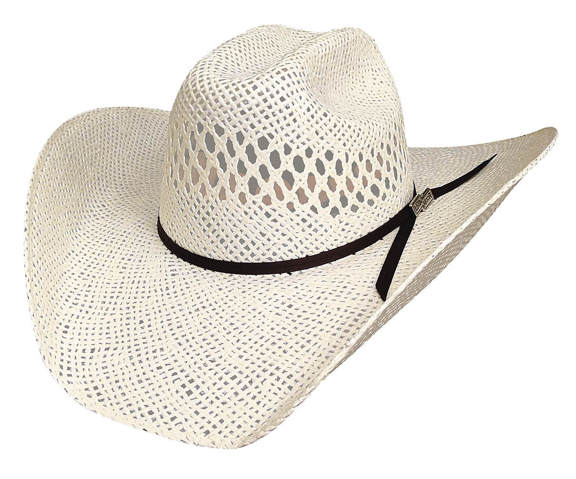 Bullhide Justin Moore Dirt Road Kid 30X Toyo Straw Cowboy Hat Vented Natural