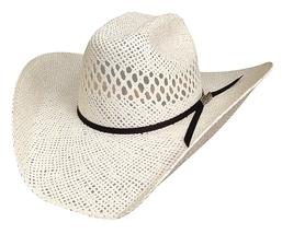 Bullhide Justin Moore Dirt Road Kid 30X Toyo Straw Cowboy Hat Vented Natural image 1