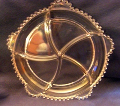 Imperial Glass Candlewick 400/56 Divided (5-part) Relish Dish - Crystal - $50.00