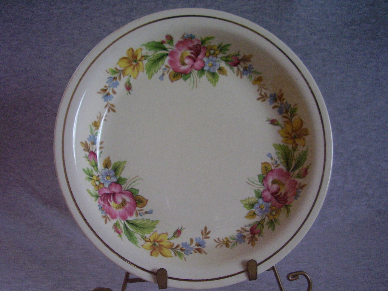Vintage Homer Laughlin Kitchen Kraft Oven Serve Pie Plate
