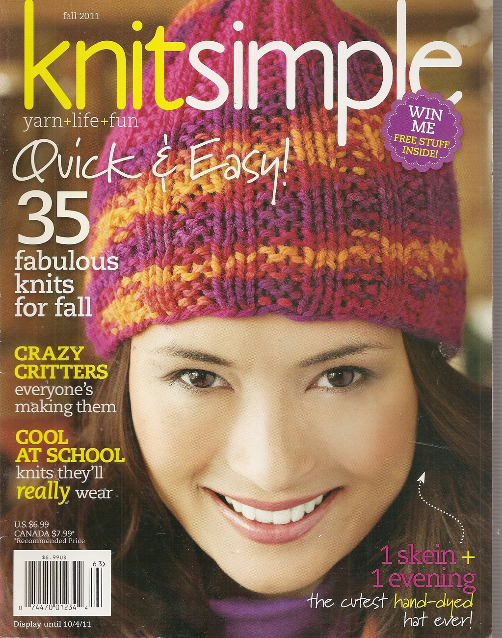 Primary image for KNITSIMPLE  FALL 2011