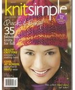 KNITSIMPLE  FALL 2011 - $3.99