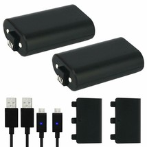 Xbox One Battery Pack 2Pcs X 1200 Mah Xbox One Rechargeable Battery And 5Ft Micr - $30.59