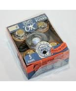 Vintage Eagle Glass Plug Fuses NO. 690 15 AMP 125 VOLT 5 PK  - $10.79
