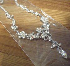 Swarovski Chrystal Flower Necklace Earrings - $24.95