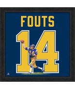 """Officially Licensed Dan Fouts Chargers Hall of Fame QB 20"""" x 20"""" Uniframe - $69.95"""