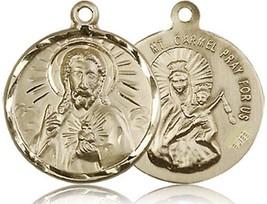 Scapular - 14KT Gold Medal - No Chain - 0017S - $982.99