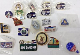 20 Vintage Elks BPOE Pins Colorado Wyoming Georgia South Carolina New Me... - $46.74
