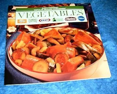 Popular Brands Cookbooks, Vegetables Cookbook