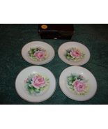 Butter Pats with Roses 4 Pieces - $26.99