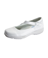 24 HOUR COMFORT Shea Women's Wide Width Leather Loafers with Buckle - $59.95