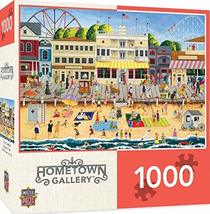 MasterPieces Hometown Gallery Jigsaw Puzzle, On The Boardwalk, Featuring Art by  - $14.99