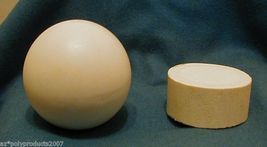 """Faux Ivory 2.5""""  BALL WITH DISPLAY BASE - $7.00"""