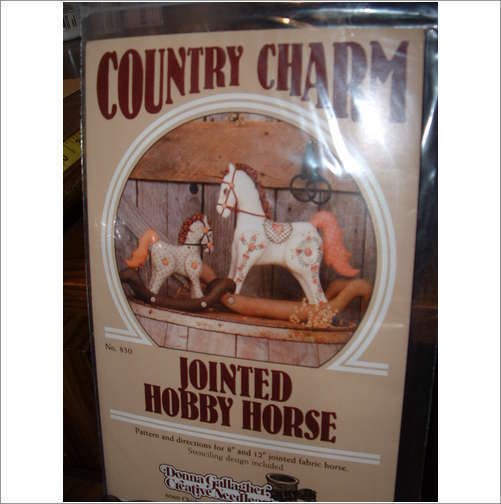 Primary image for COUNTRY CHARM JOINTED HOBBY HORSE PATTERNS