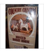 COUNTRY CHARM JOINTED HOBBY HORSE PATTERNS - $4.95
