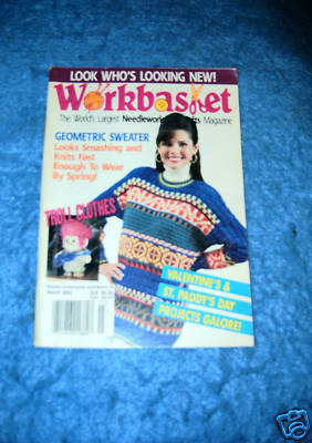 Primary image for Workbasket.The Largest Needlework & Crafts, March 1993