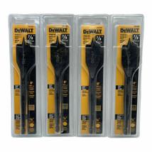 """(New) DeWalt DW1580 7/8"""" x 6"""" WOOD BORING BIT IN SEALED PACKAGE (Pack of 4) - $23.26"""