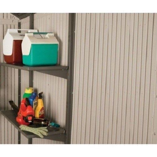 Lifetime 11x18.5 Storage Shed Kit w/ Floor [6415 / 20125]