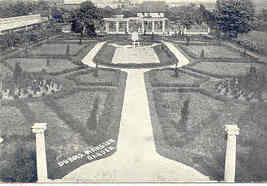 Mansion Garden Du Bois Pennsylvania 1908 Post Card - $5.00