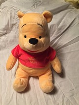 "Disney Winnie The Pooh Plush Kohl's Care For Kids Stuffed Animal Bear 14"" - $11.27"