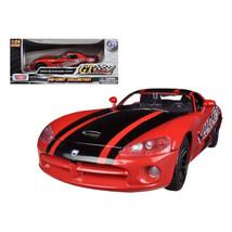 2003 Dodge Viper SRT-10 Red #8 GT Racing 1/24 Diecast Car Model by Motor... - $28.82