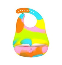 (Rainbow) Fashionable Showerproof Comfortable Baby Bib/Pinafore for Baby image 1