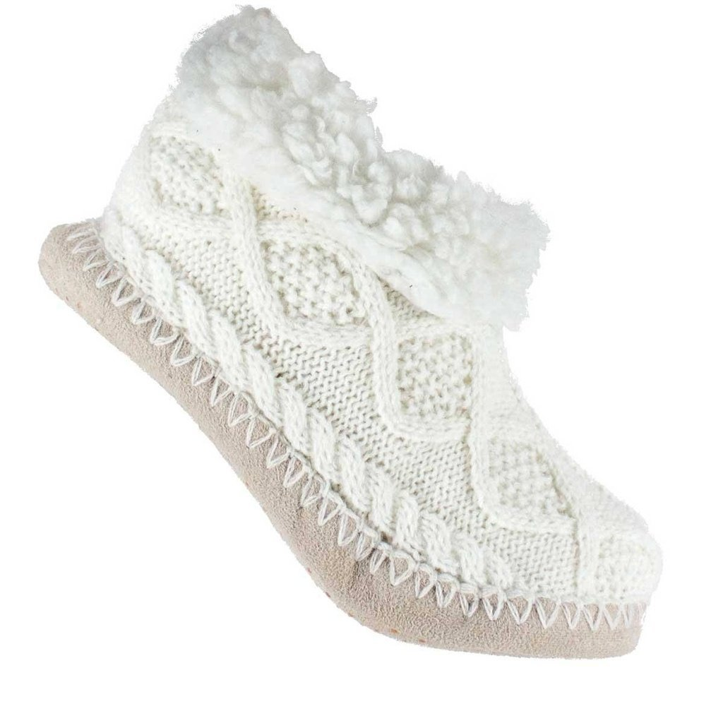 Fuzzy Shea Butter Infused Sweater Knit Booties