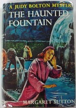 Judy Bolton no.28 The Haunted Fountain hcdj Margaret Sutton c.1957 later... - $35.00