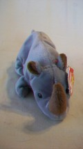 Spike the Rhinoceros Ty Beanie Baby DOB August 13, 1996 - $17.32