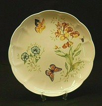 """Butterfly Meadow Monarch by Lenox 10-7/8"""" Dinner Plate Butterflies Floral Accent - $26.72"""