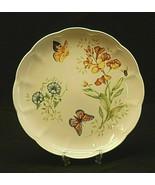"""Butterfly Meadow Monarch by Lenox 10-7/8"""" Dinner Plate Butterflies Flora... - $26.72"""